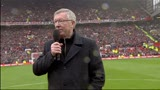 12/05/2013 - Old Trafford, l'ultimo saluto di Sir Alex