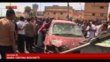 13/05/2013 - Libia, autobomba esplode in parcheggio ospedale di Bengasi