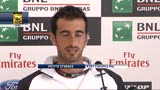 13/05/2013 - Tennis, Potito Storace: &quot;Contro Federer sar difficilissimo&quot;