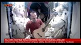 13/05/2013 - ISS, Chris Hadfield realizza primo videoclip nello spazio