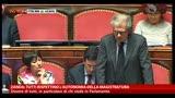 Zanda: tutti rispettino l'autonomia della magistratura