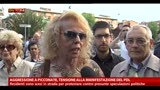 14/05/2013 - Aggressione a picconate, tensione alla manifestazione Pdl