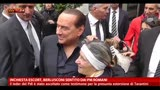 14/05/2013 - Inchiesta escort, Berlusconi sentito dai pm romani