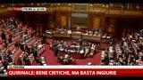 Matteoli: se PD vota ineleggibilità Berlusconi, via governo