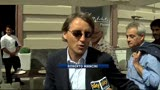 16/05/2013 - Mancini tra le vie di Napoli: &quot;nella vita non si sa mai&quot;