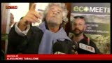 16/05/2013 - Grillo: sosterremo ritorno a vecchia legge elettorale