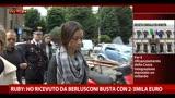 17/05/2013 - Ruby: Ho ricevuto da Berlusconi busta con 2-3 mila euro