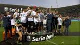 18/05/2013 - Serie B, il Sassuolo solleva la coppa