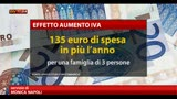 19/05/2013 - Aumento iva: 135 euro di spesa in piu a famiglia