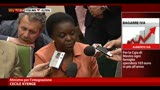 20/05/2013 - Cittadinanza, Kyenge: Ius Soli non e priorita per Governo