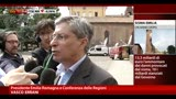 20/05/2013 - Terremoto Emilia, le richieste della Regione al governo