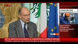 20/05/2013 - Letta: decisivo che Europa si concentri su lavoro e giovani