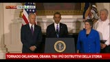 22/05/2013 - Tornado, Obama: per Oklahoma il massimo di risorse