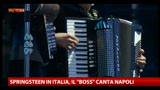 "24/05/2013 - Springsteen in Italia, il ""boss"" canta Napoli"