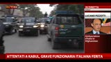 24/05/2013 - Attentato Kabul, grave la funzionaria italiana ferita
