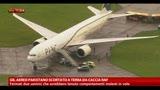 GB, aereo pakistano scortato a terra da Caccia Raf