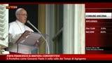 Papa Francesco ai mafiosi: convertitevi