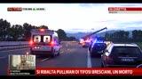 27/05/2013 - Si ribalta pullman di tifosi bresciani, un morto