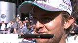 F1, Gp Monaco: l'intervista a Nico Rosberg