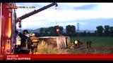 27/05/2013 - Brescia, pullman di tifosi si ribalta: 1 morto e 20 feriti
