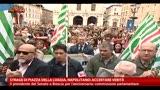 28/05/2013 - Strage di Piazza della Loggia, Napolitano: Accertare verità