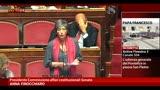 Riforme e legge elettorale, parla Finocchiaro