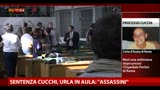 "05/06/2013 - Sentenza Cucchi, urla in aula: ""Assassini"""