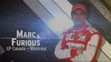 Marc & Furious, il circuito di Montreal