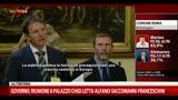 Domanda giornalista irlandese a Letta su processi Berlusconi