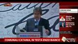 Catania, Bianco: città ha bocciato vecchia amministrazione