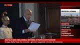 Napolitano: ineludibile riforma II parte Costituzione
