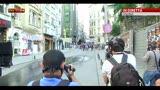 16/06/2013 - Turchia, nuova carica della polizia vicino a piazza Taksim