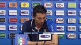18/06/2013 - Confederations Cup, Buffon chiama Totti