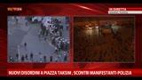 22/06/2013 - Nuovi disordini a piazza Taksim,scontri manifestanti-polizia