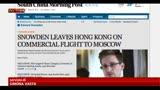 23/06/2013 - Datagate, Snowden in volo per Mosca