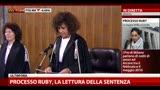 24/06/2013 - Processo Ruby, la lettura della sentenza