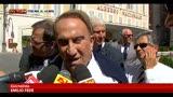 25/06/2013 - Processo Ruby, Fede: Berlusconi non si tirerà indietro