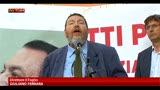 25/06/2013 - Manifestazione contro sentenza Ruby, parla Giuliano Ferrara