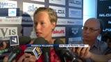 02/07/2013 - Swimming Cup su Sky, intervista a Federica Pellegrini