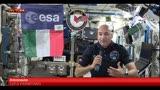 Spazio, Luca Parmitano in videoconferenza dalla ISS