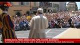 In migliaia al primo Angelus del Papa a Castel Gandolfo