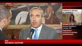 18/07/2013 - Alfano, Gasparri: la mozione di sfiducia sarà bocciata