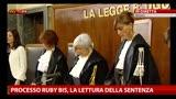 19/07/2013 - Processo Ruby bis, 7 anni a Mora e Fede, 5 anni alla Minetti