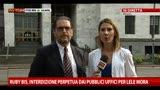 19/07/2013 - Ruby bis, interdizione perpetua dai pubblici uffici per Mora