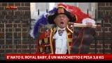 23/07/2013 - E' nato il Royal Baby, è un maschietto e pesa 3,8 kg.