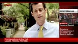24/07/2013 - New York, Weiner non ritira la candidatura