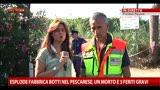 25/07/2013 - Esplosione fabbrica botti: intervista a Cherubini del 118