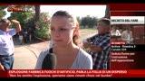 25/07/2013 - Esplosione fabbrica fuochi artificio, parla figlia disperso