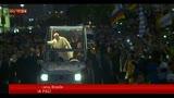 26/07/2013 - Brasile, un milione di giovani per il Papa a Copacabana