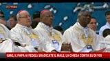 """28/07/2013 - GMG, Papa: """"Sradicate il male, la Chiesa conta su di voi"""""""